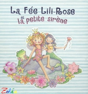 lili rose dans un livre pour enfant