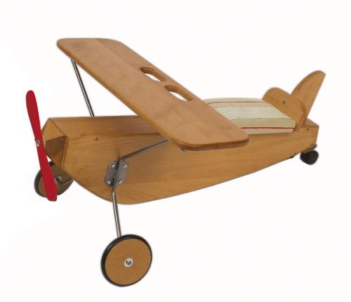 Porteur avion en hêtre massif