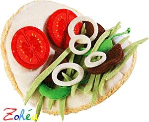 Kebab tissu de Haba