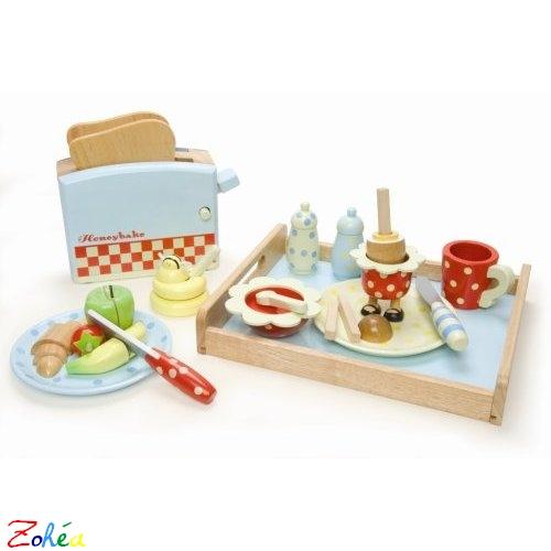 Service petit déjeuner Honey de Toy Van et Papo