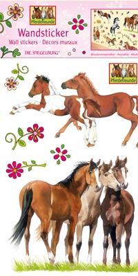 Stickers muraux Amis des chevaux