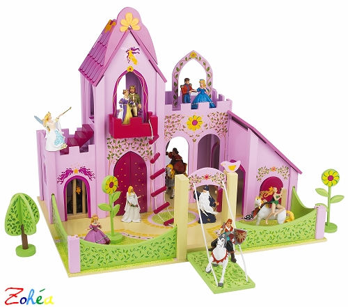 Le chateau enchanté figurines PAPO
