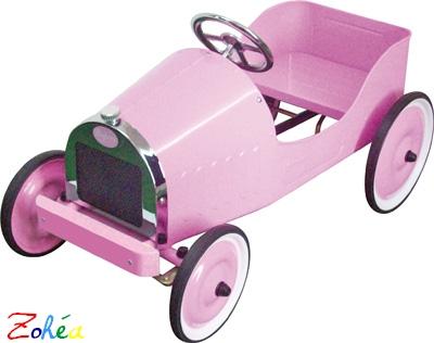La grande classique rose voiture à pédales