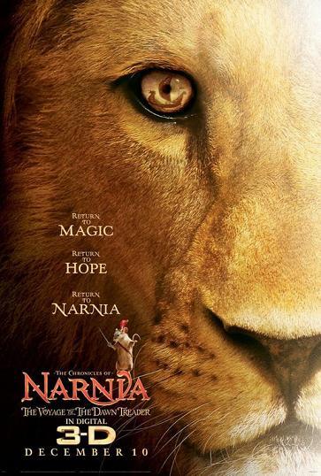 Affiche le Monde de Narnia : Chapitre 3 l'Odyssée du Passeur d'Aurore