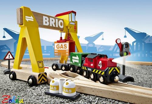 BRIO  Circuit BRIO transport de marchandises