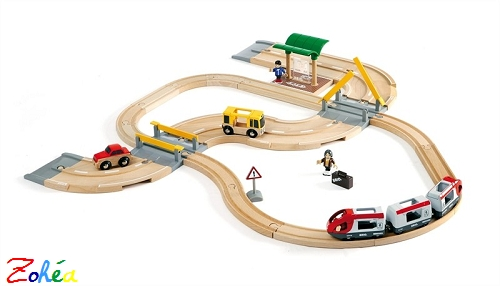 Circuit de correspondance Train Bus Brio