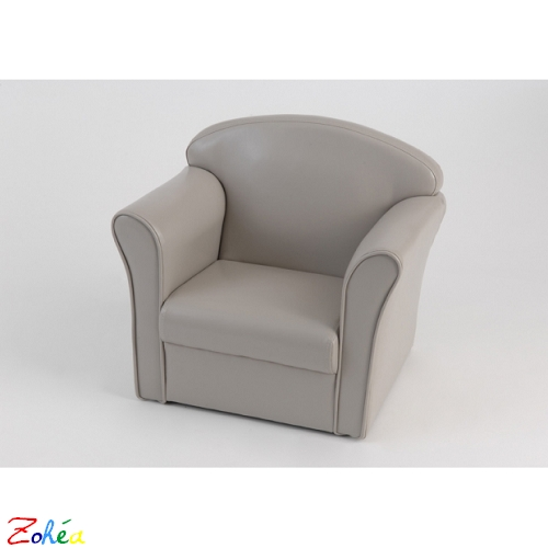 Fauteuil Club Taupe Amadeus