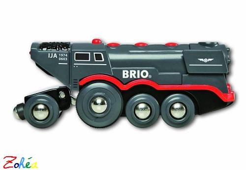 Grande locomotive à vapeur à piles Brio
