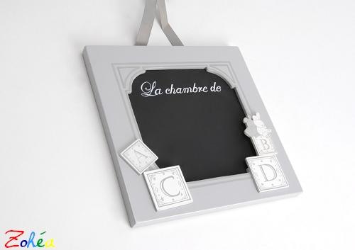 Plaque de chambre Mon petit ABC Amadeus
