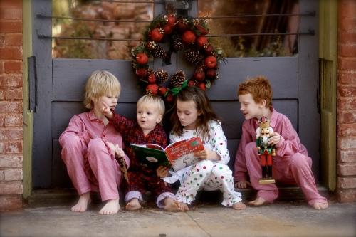 Les enfants et les cadeaux de noël !